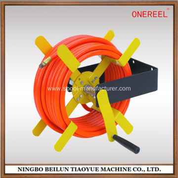 Open Side Steel Air Water Hose Reel